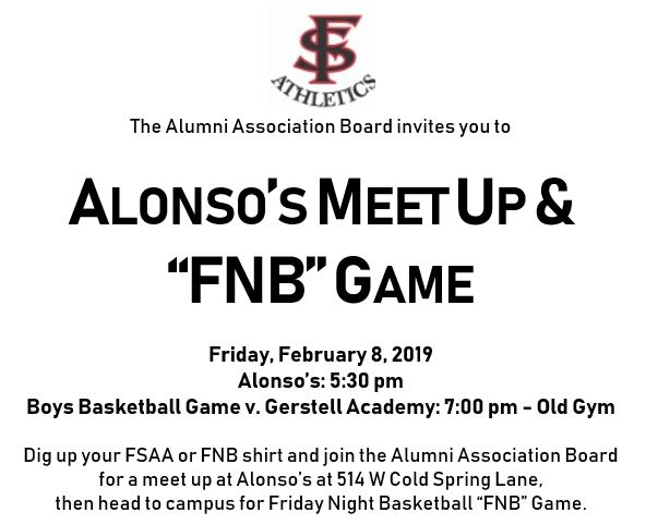 "Alonso's Meet Up & ""FNB"" Game"